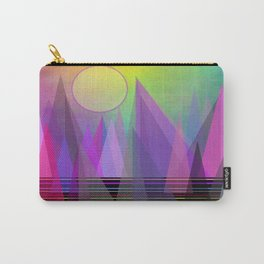 Abstract Elevation Carry-All Pouch