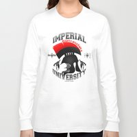 skyrim Long Sleeve T-shirts featuring Imperial University(Skyrim) by Chubbybuddhist
