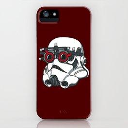 Stormtrooper Eyetest iPhone Case