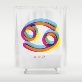 Cancer ~ Zodiac Shower Curtain