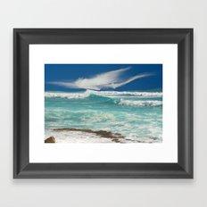Wild Atlantic Framed Art Print