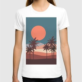 Abstract Landscape 13 Portrait T-shirt