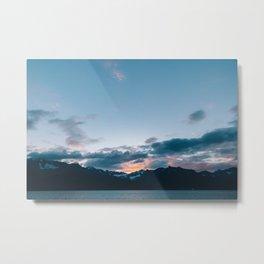 Alaskan Mountain Dawn II Metal Print