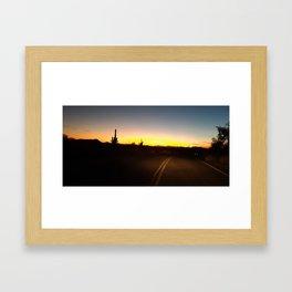 Arizona Holiday Framed Art Print