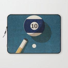 BILLIARDS / Ball 10 Laptop Sleeve