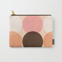 Abstraction_COLOUR_CIRCLES_Minimalism_001 Carry-All Pouch