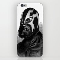 wrestling iPhone & iPod Skins featuring WRESTLING MASK 9 by DIVIDUS