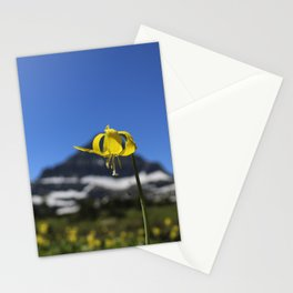 Glacier Lily at Logan Pass Stationery Cards
