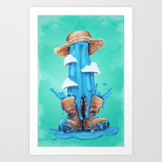 Intrusive Sky Art Print