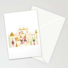 Christmas Happy Castle Stationery Cards