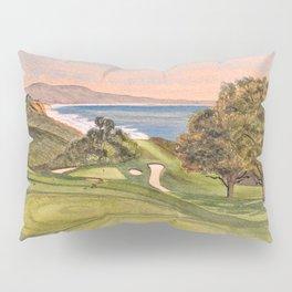 Torrey Pines South Golf Course Hole 6 Pillow Sham