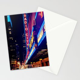 Radio City Music Hall New York City Stationery Cards