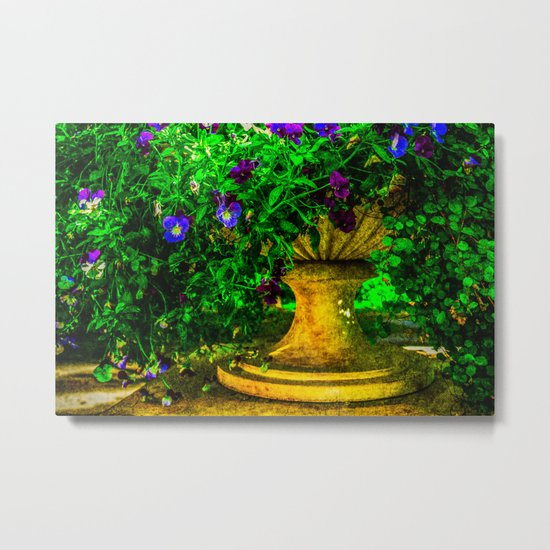 Summer Hairstyle Metal Print