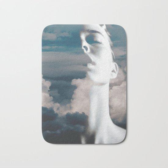 Fly Away Bath Mat By Glitch Society6