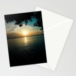 Sunset From L.G. Smith Boulevard, Aruba Stationery Cards