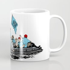 Team Zissou Crossing the Delaware Mug