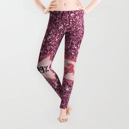99% Unicorn - sparkling Glitter print B Leggings