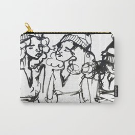iPhone girl Carry-All Pouch