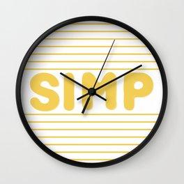 SIMPING Wall Clock