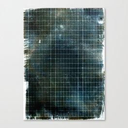 Weathered Grid Canvas Print