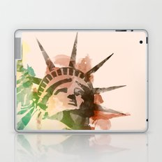 Miss Liberty Laptop & iPad Skin