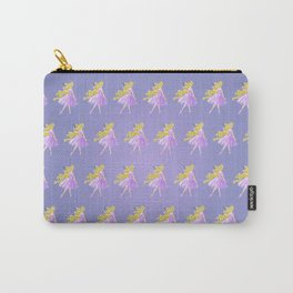 Golden Flower Carry-All Pouch