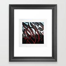 CalligrabstractArt Framed Art Print