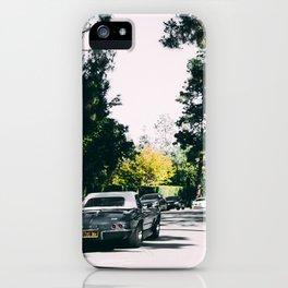 Los Angeles street iPhone Case