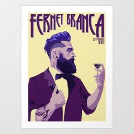 Fernet Branca new age Art Print