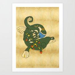 Celtic Liam Y Hygin Art Print