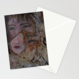 crying with a thousand eyes Stationery Cards