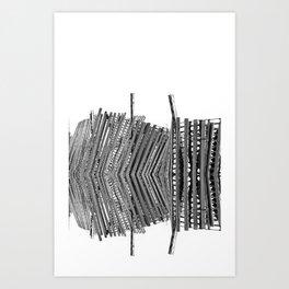 centipede Art Print