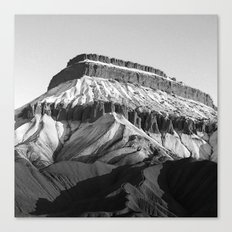 MT Garfield Dust B/W Canvas Print