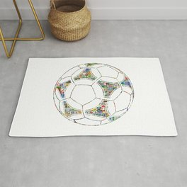 Philately Tango Ball Rug