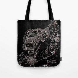 Wine Woman Tote Bag