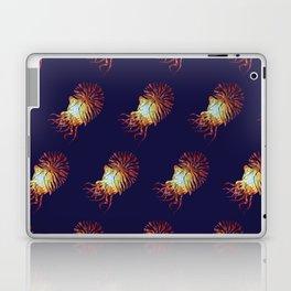 Blue Nautilus pattern Laptop & iPad Skin