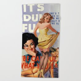 The Sly Cycle Beach Towel