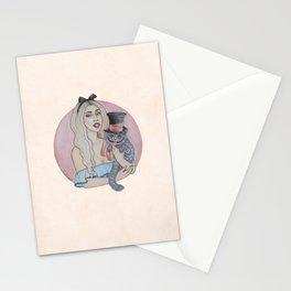 WONDERLAND QUEEN Stationery Cards