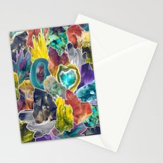 Crystals II Stationery Cards