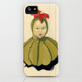 Creepiest Yet Most Wonderful Pincushion Ever in Gouache iPhone Case