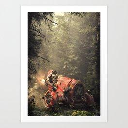KingBishop Art Print