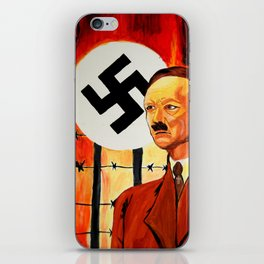 Hitler: The Face of Hate  iPhone Skin