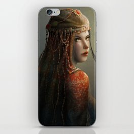 Princess from the East iPhone Skin