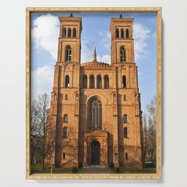 Sant Thomas Church in Berlin Serving Tray