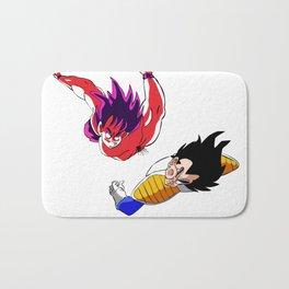 Goku VS Vegeta Bath Mat