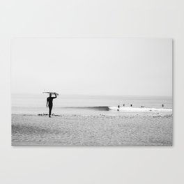 Surf Malibu Canvas Print