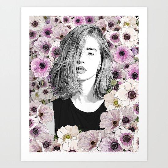 Come with me Art Print