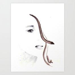 Portrait 2 Art Print