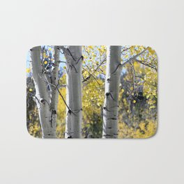 Autumn Trees Bath Mat
