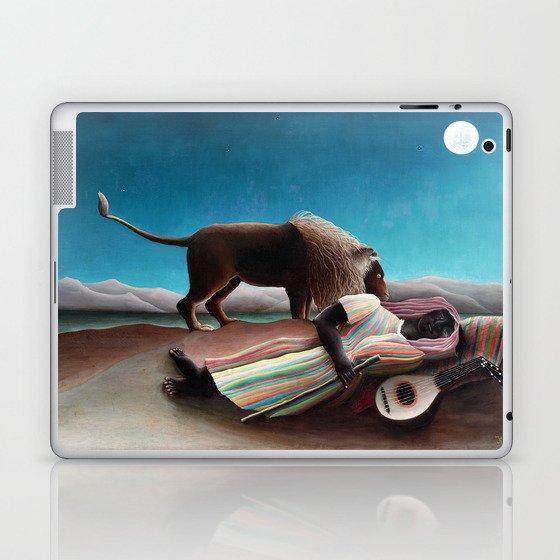 Henri Rousseau The Sleeping Gypsy Laptop & iPad Skin